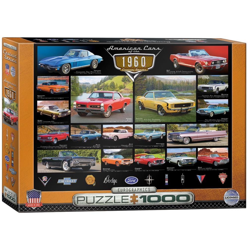 1960 s Cruisin  Classics 1000-Piece Jigsaw Puzzle ad1e01e238ec1