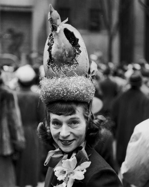 5th Avenue Easter Bonnet c1940
