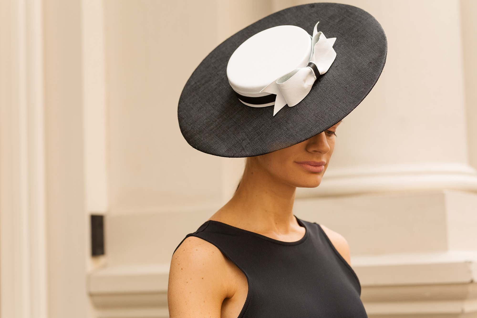Allport Millinery Boater Hat