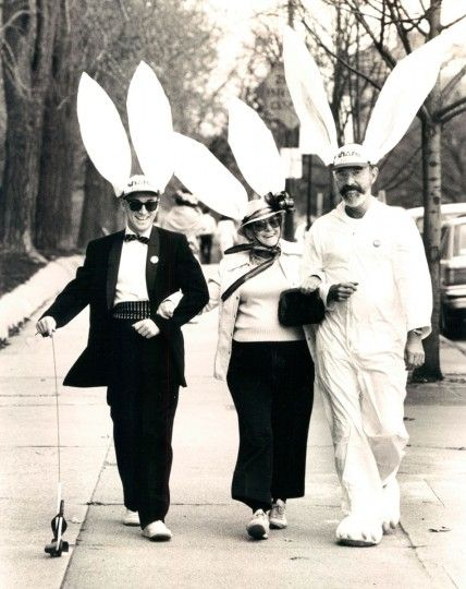 Easter Bonnets Baltimore 1985
