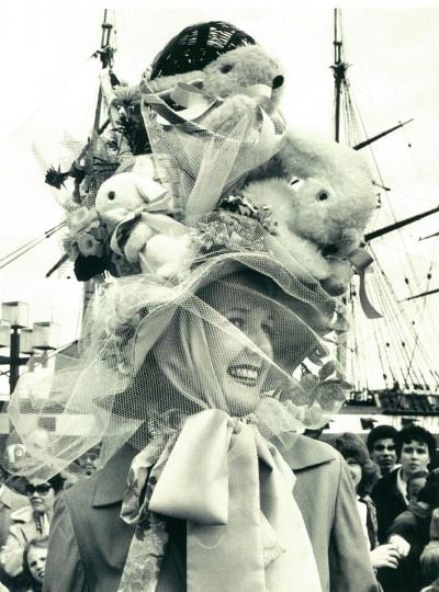 Janice Baer Easter Bonnet Baltimore 1982