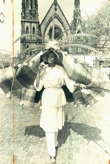 Louise Johnson Easter Bonnet 1976 Baltimore