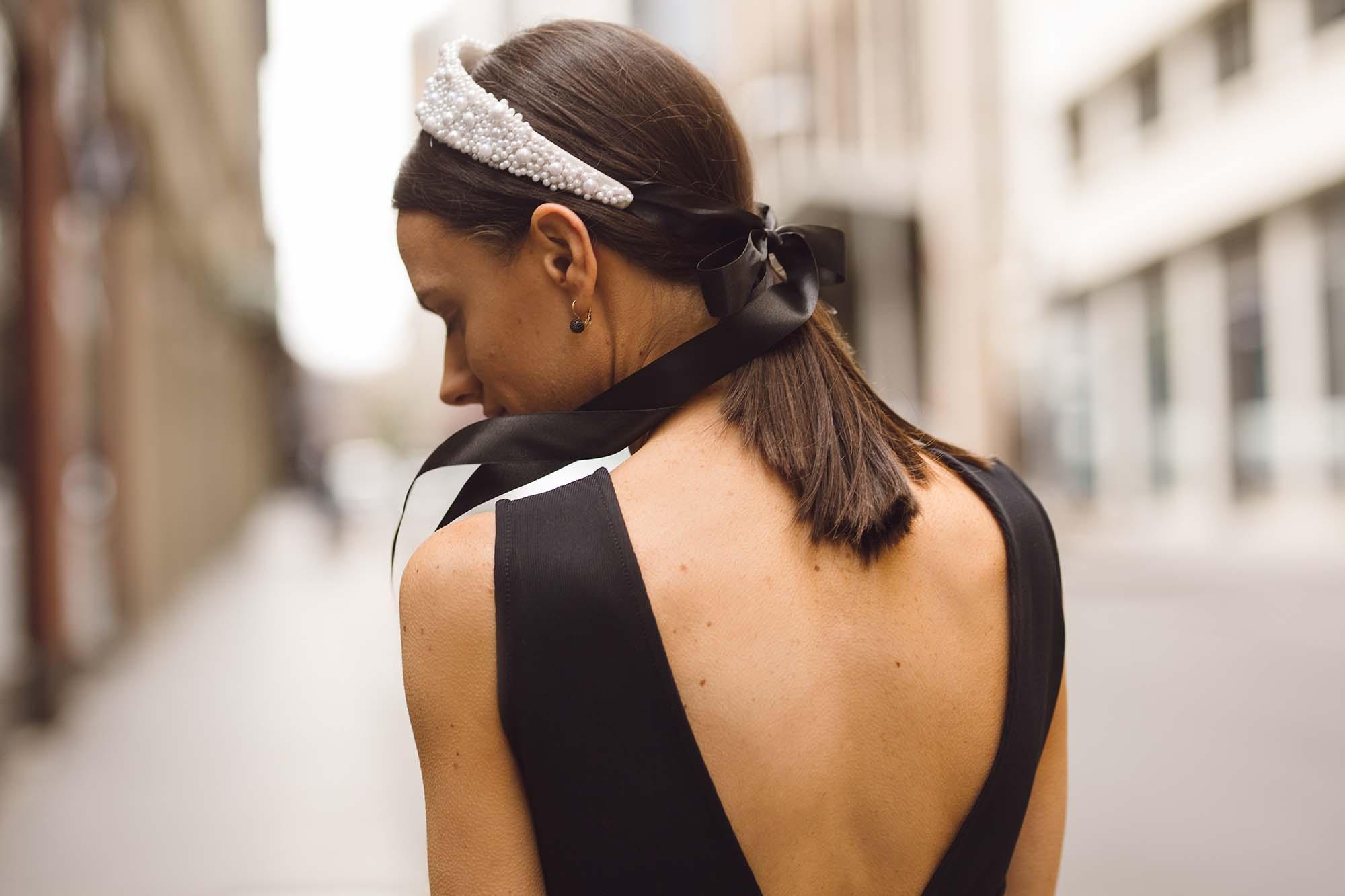 Suzy O'Rourke Pearl Headband