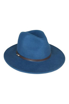 Oslo - Teal Wool Felt Fedora by Ace of Something