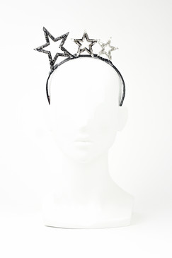 STELLA - Diamante Star Headband by Angela Menz Millinery