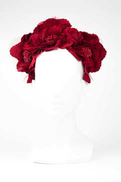 Red Flower Halo by Fillies Collection