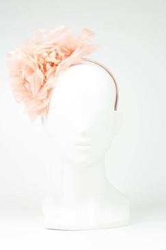 Max Alexander Silk Flower Crown Peach