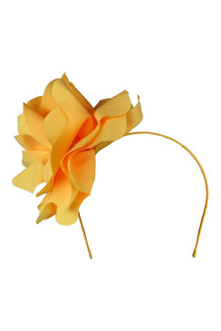 Amy - Morgan & Taylor Yellow Floral Headband