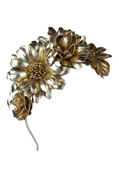 Blair - Morgan & Taylor Gold Flower Crown