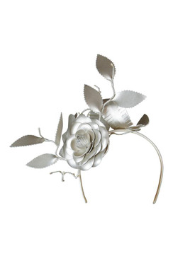 Riviera - Morgan & Taylor Gold Floral Headpiece
