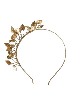 Honey - Morgan & Taylor Gold Leaf Headband