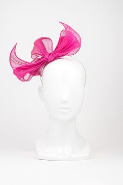 Hot Pink Sculptured Bow by Morgan & Taylor
