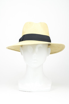 "Morgan & Taylor Regular ""Lane"" Fedora in Natural"