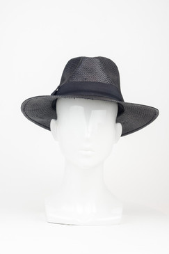 "Morgan & Taylor Regular ""Lane"" Fedora in Black"