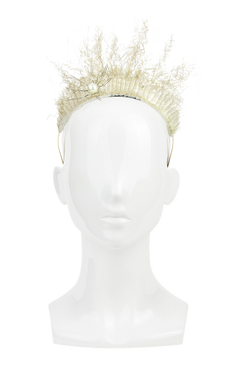 Ariel - Gold White Mermaid Headband by Richard Nylon Millinery