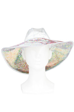 Confetti Glitter Floppy Hat by S.Rush Rainwear