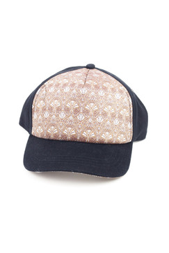 Golden Years - Cotton Silkscreened Art Deco Baseball Cap