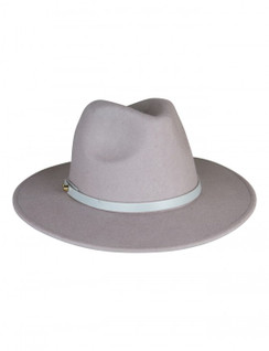 Oslo - Grey Wool Felt Fedora from Ace of Something