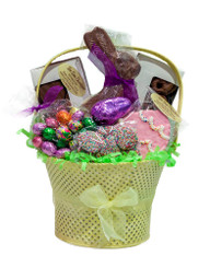 Easter Gift Tin Basket