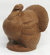 3 1/2 lb. Semi Solid Milk Chocolate Turkey.