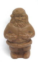 22 oz. Milk Chocolate Semi Solid Large Santa