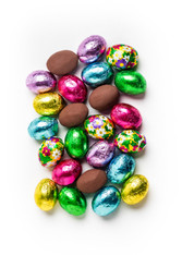 16 oz. Milk Chocolate  Lee Sims foiled eggs
