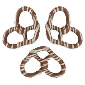 Milk Chocolate with white stripes