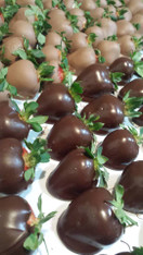 Milk or Dark Chocolate covered Strawberries  **IN STORE PICK-UP ONLY**