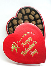 1lb. Assorted Milk & Dark Chocolate Heart