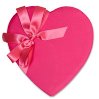 1lb. Pink love heart