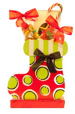 Christmas Stocking Basket Box