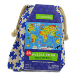 Puzzle to go : Map of the World