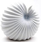 Medium White & Blue Palm