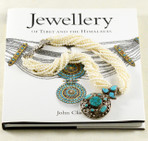 """10 strands freshwater pearl with tribal pendant (silver & turquoise). Silver clasp. 20"""""""