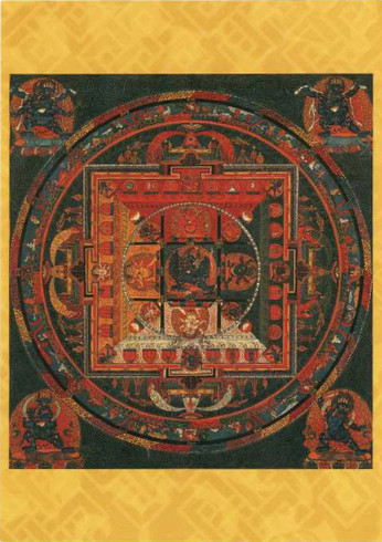 Mandala of the Buddhist deity Vajrabhairava, 1600-1700
