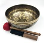 "Etched Chakra Singing Bowl (10"")"