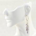 Amethyst Grapes Earrings