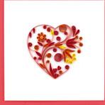 Heart Notecard