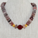 Muskovite and Agate Necklace