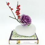 Haba Bean White Vase