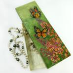 Long Butterfly Capiz Box