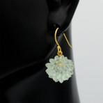 Succulent Drop Earrings