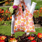 Citrus Blu Bag, Reusable Shopping Bag