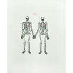 Love Skeleton Card
