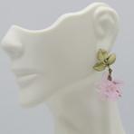 Blushing Rose Earrings