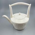 Spring Garden Porcelain Teapot