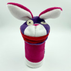 Softy Bunny Hand Puppet