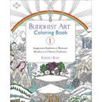 Buddhist Art Coloring Book 1