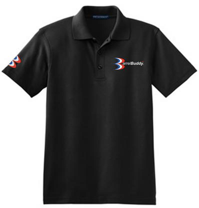 Black BarrelBuddy Polo