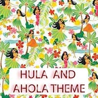 Hula & Ahola Theme Gifts & Tropical Beach Decorations